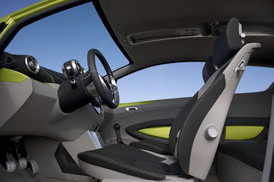 Chevrolet Beat inside view