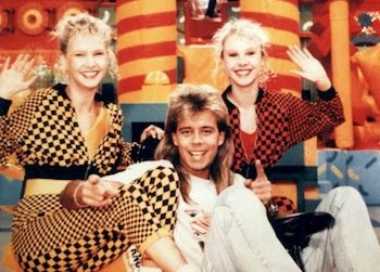 Fun House, Twins, Melanie, Martina, Pat Sharpe, The 90s, 1990s, Funny, Pictures than make you feel old,