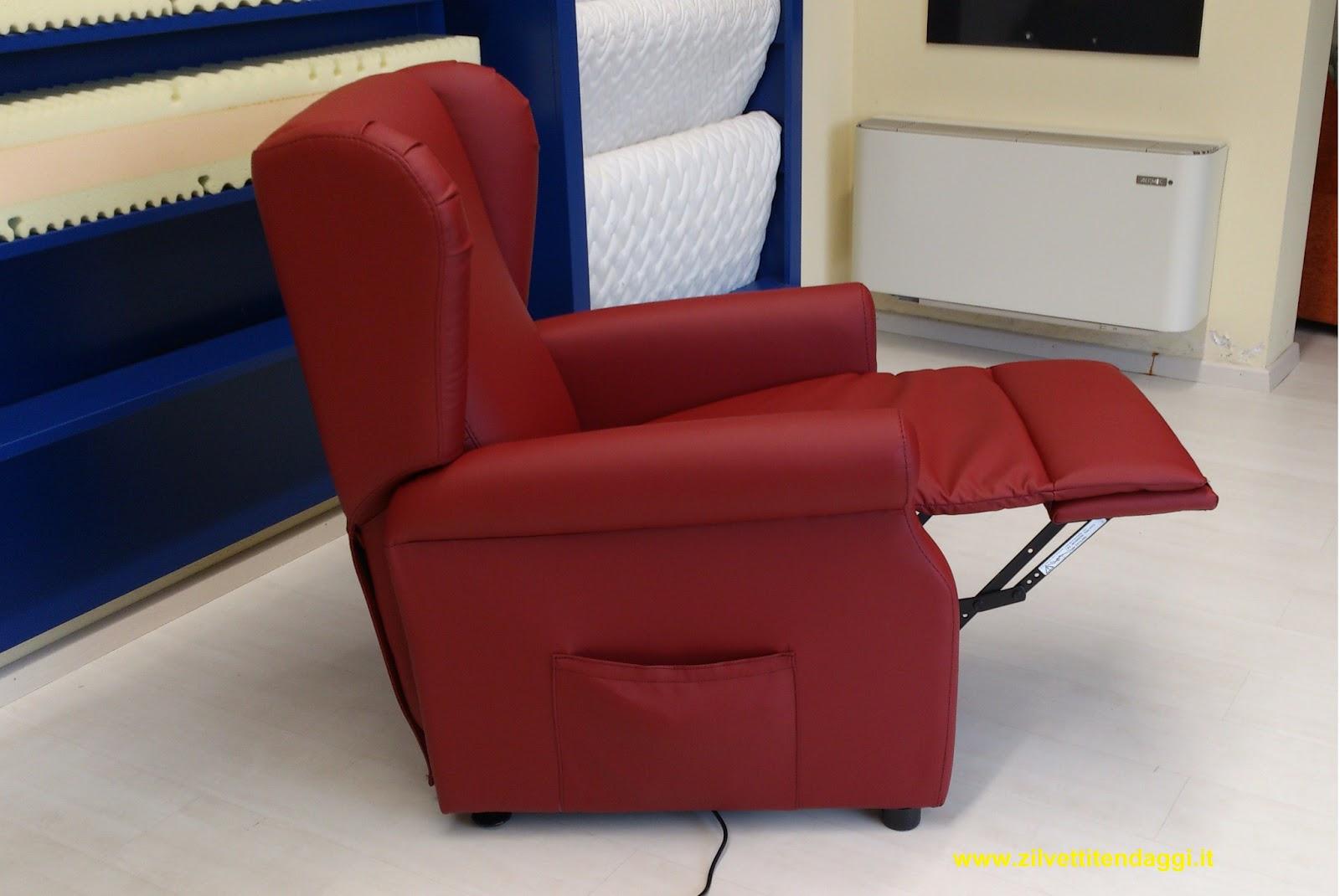 Tende materassi letti poltrone divani zilvetti tendaggi for Poltrone automatiche