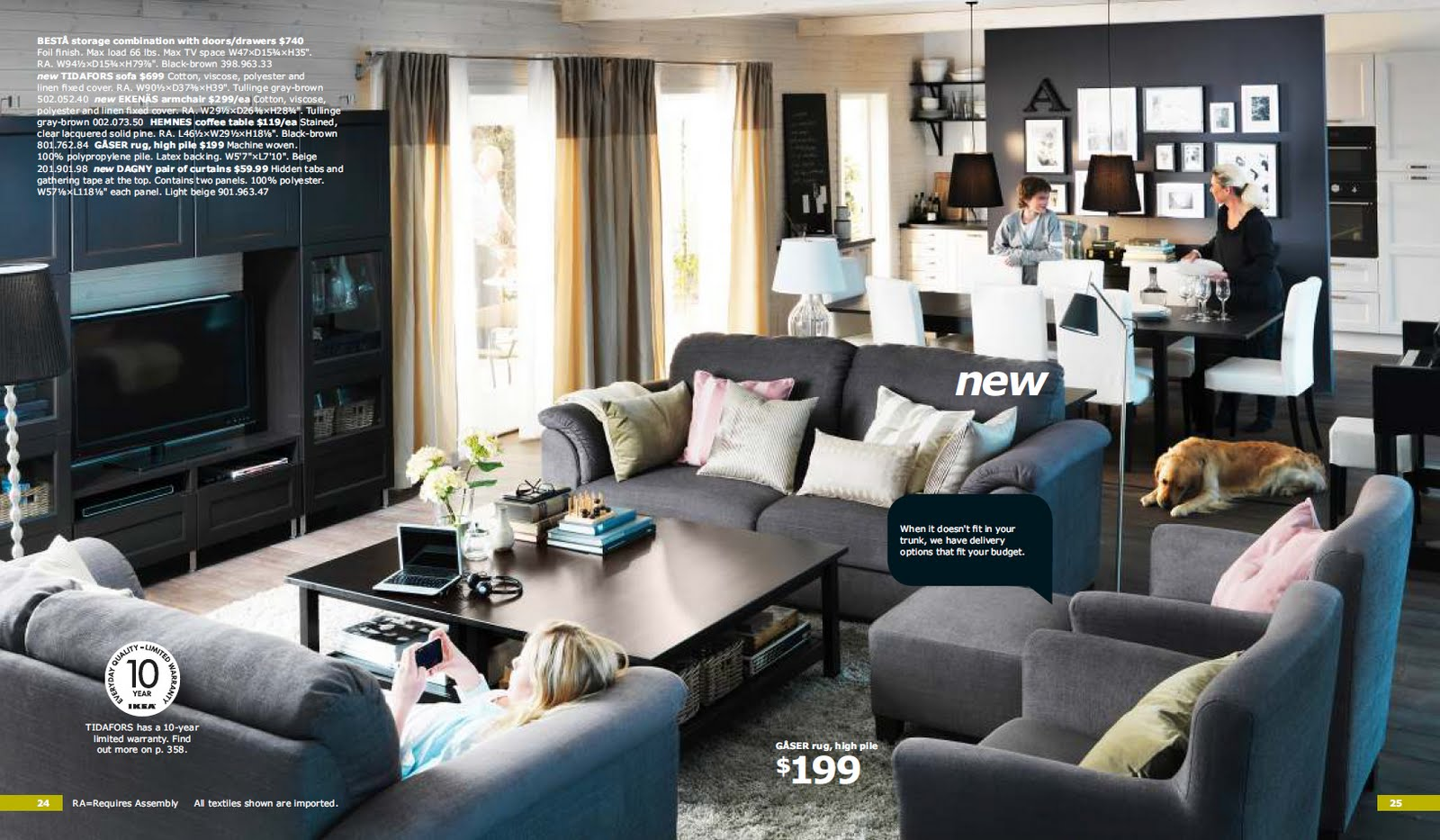 Ikea 2012 catalogue costin m for Furniture design for small living room