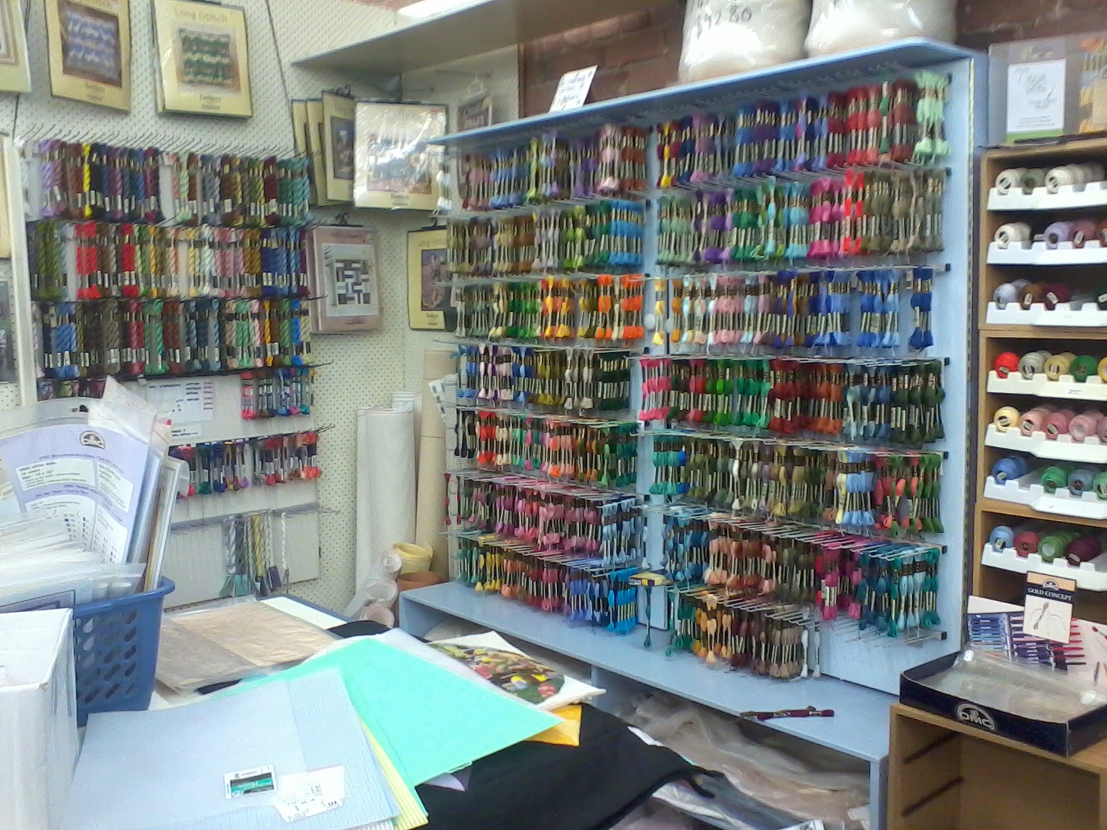 A Craft Shop Near Cuba Street Loads Of Embroidery Threads To Keep Me Happy