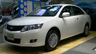 2012 Toyota Allion Picture Gallery