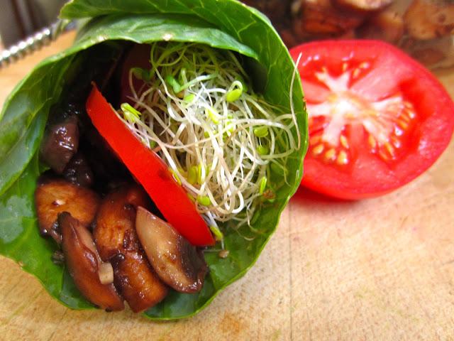mushroomcollardwrap