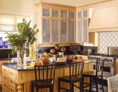 Id es pour la d coration de cuisine rustique design for Decorer une cuisine rustique