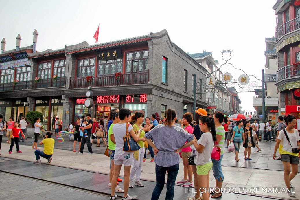 Interesting walk at Qianmen Street and 798 Art District of ...