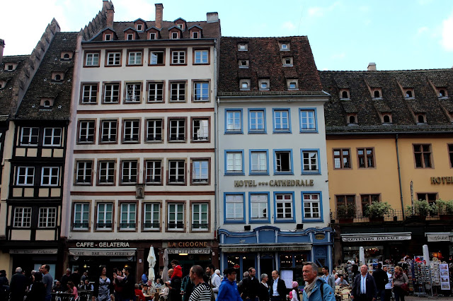 Rue cathédrale Strasbourg