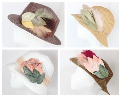 2016 - Coleccion Sombreros 00 hoja pluma