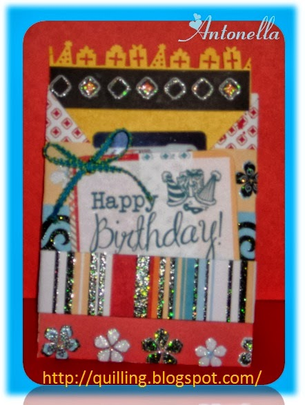 Antonella's Happy Birthday Hug Card