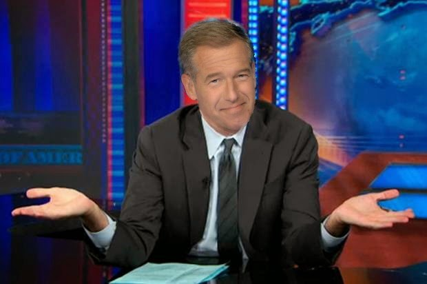 Brian Williams the daily show jon stewart