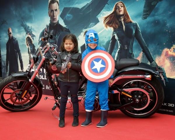 """Fotográfias Evento Fan """"Capitán América: El Soldado de Invierno"""""""