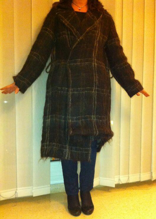 Como arreglar un abrigo grande