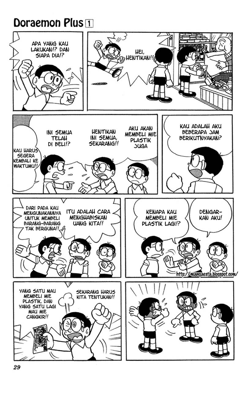 Baca Komik Doraemon Plus Vol 1 Chapter 003 - Halaman 07