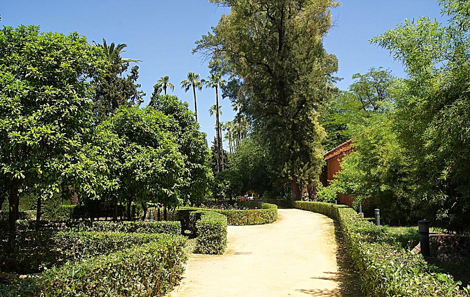 Leyendas de sevilla reales alc zares de sevilla ix los jardines de la huerta del retiro - Jardines de sevilla ...