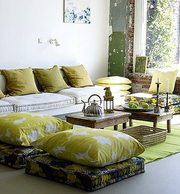 Theme Design: Green home decor ideas and inspration!