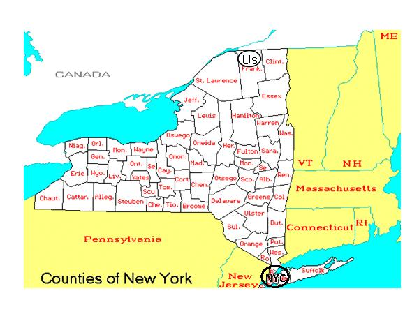 New York Geography