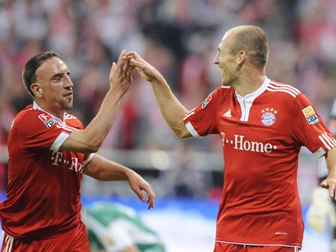 Ribery e Robben, extremos ofensivos