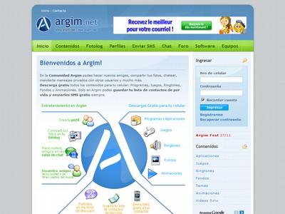 ARGIM.NET LA WEB Y LA WAP PARA TU CELULAR...!!!