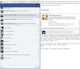 aplikasi facebook chatting