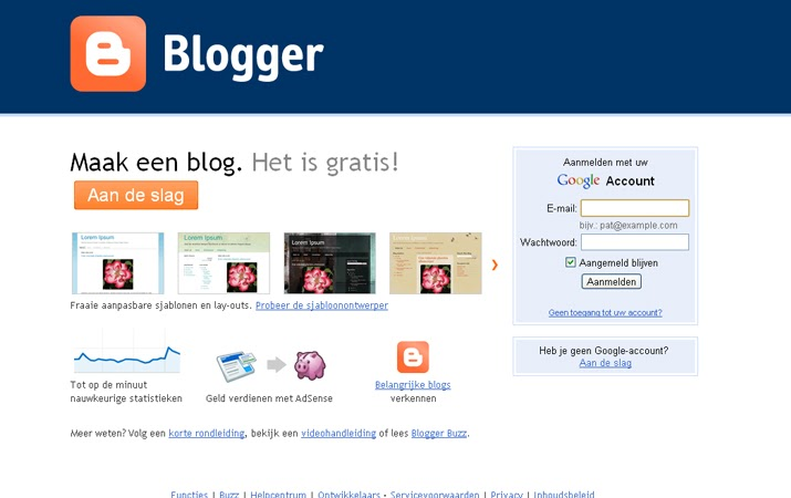 Tips geld verdienen online hoe maak je een blog met blogger - Hoe een kleedkamer aanmaken ...