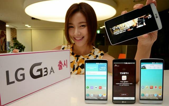 Spesifikasi Harga LG G3 A, Smartphone Full HD dan 13 MP