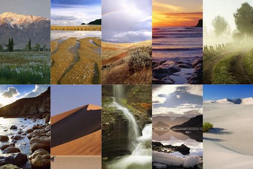 Paisajes naturales by www.idool.net