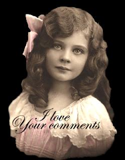 niña vintage en formato png para el sidebar