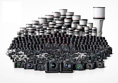 Fotografia del sistema fotografico Canon EOS