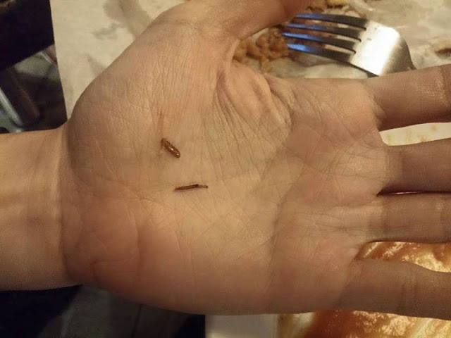 William Neeson finds Cockroach in his dish after eating dinner in Steak Plus Quezon City