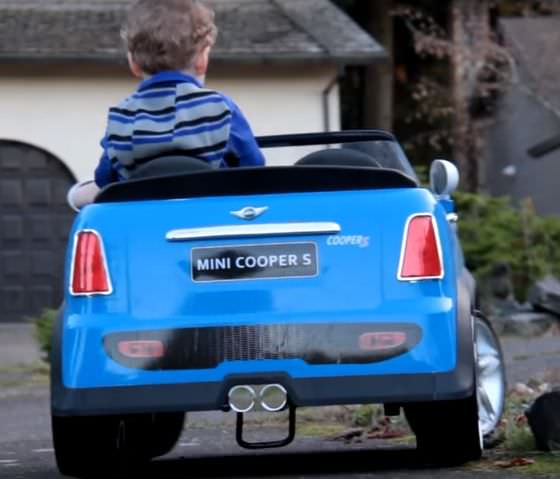 Mini Cooper Ride On Car V Battery Operated Toy