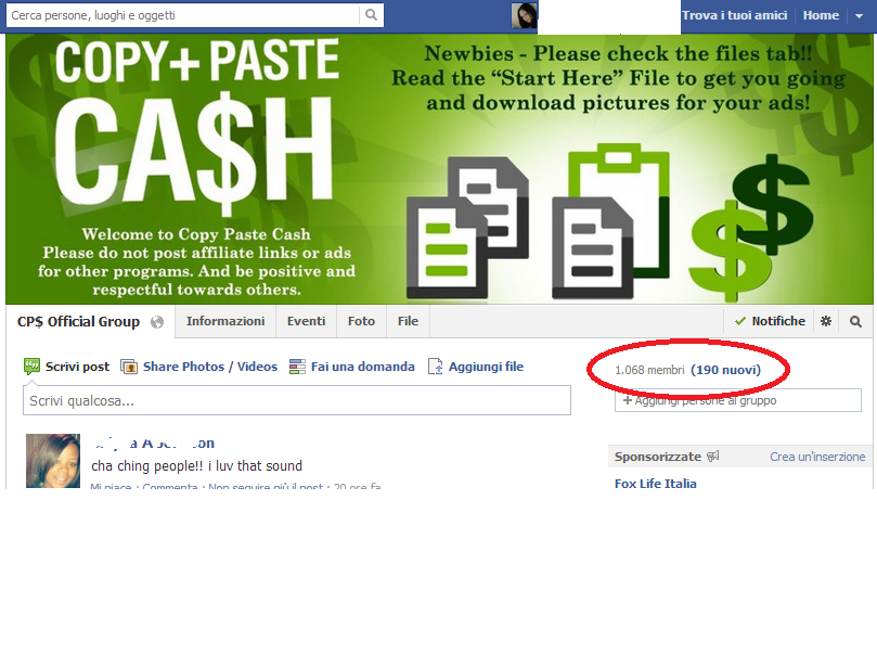 Work at home with copy paste cash for In this house copy and paste