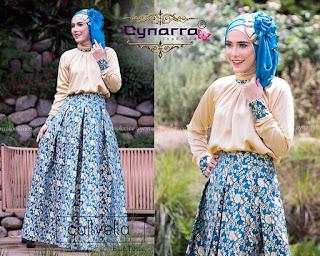 Model Baju Hijab Lebaran 2015