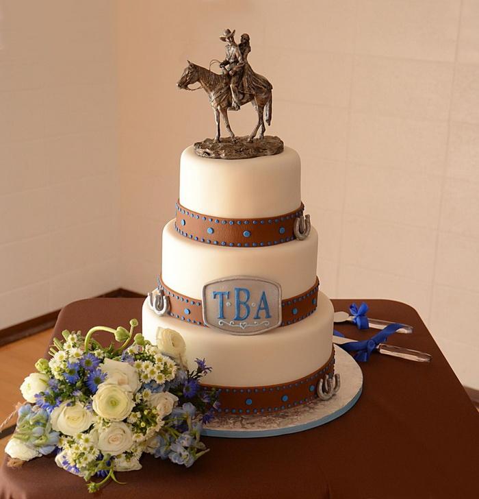 Ideas for a Western Wedding Cake - Unusual Wedding