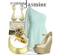 Jasmine Character Inspired Outfit by Disneybound