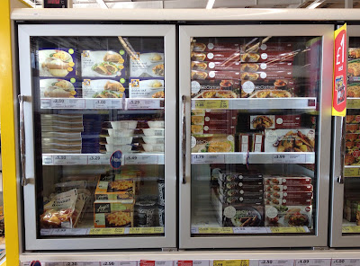 tesco frozen free from section
