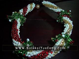 Christmas_wreath _bracelet