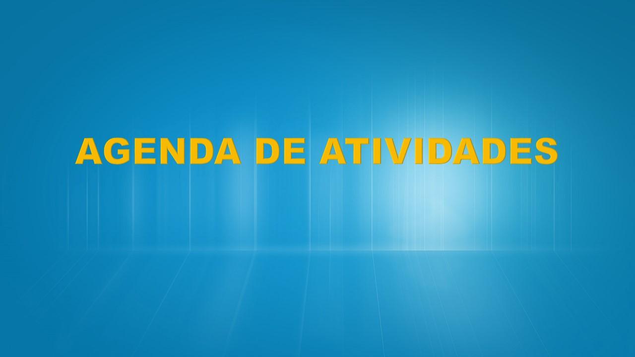 AGENDA DE ATIVIDADES
