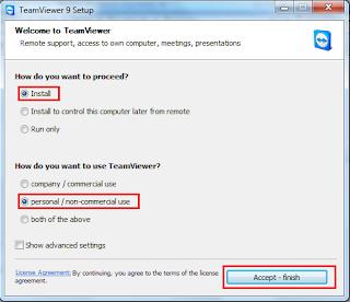 Cài đặt nhanh Teamviewer 9 beta nhanh