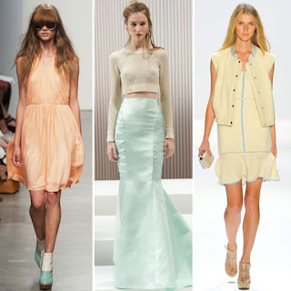 Sorbet Pastels Fashion