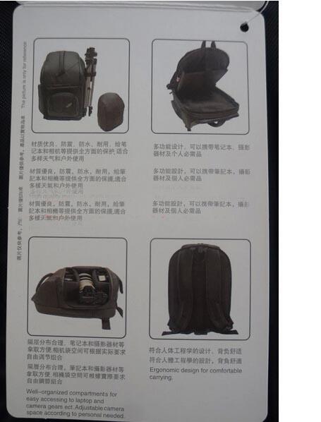 Ba lô Lenovo máy ảnh SLR, máy tính xách tay chính hãng