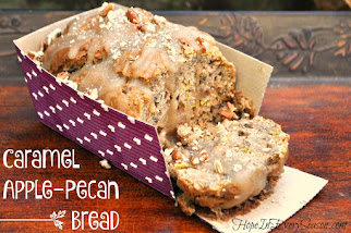 Caramel Apple-Pecan Bread