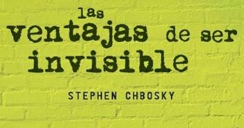 Resultado de imagen de las ventajas de ser invisible libro