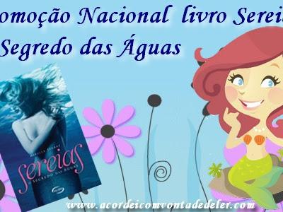 """Resultado da Promoção do Livro """"Sereias"""" da autora Mirella Ferraz"""