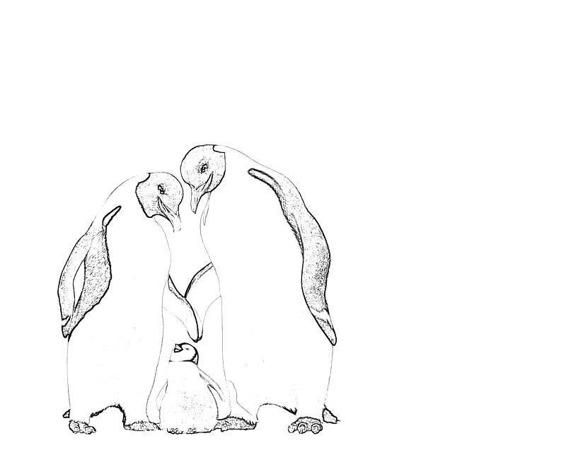 happy feet printable coloring pages - photo#22