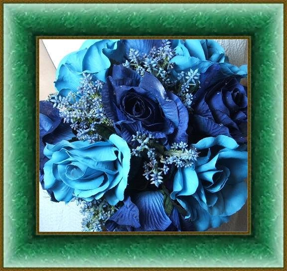 Tiffany Blue Wedding Flowers