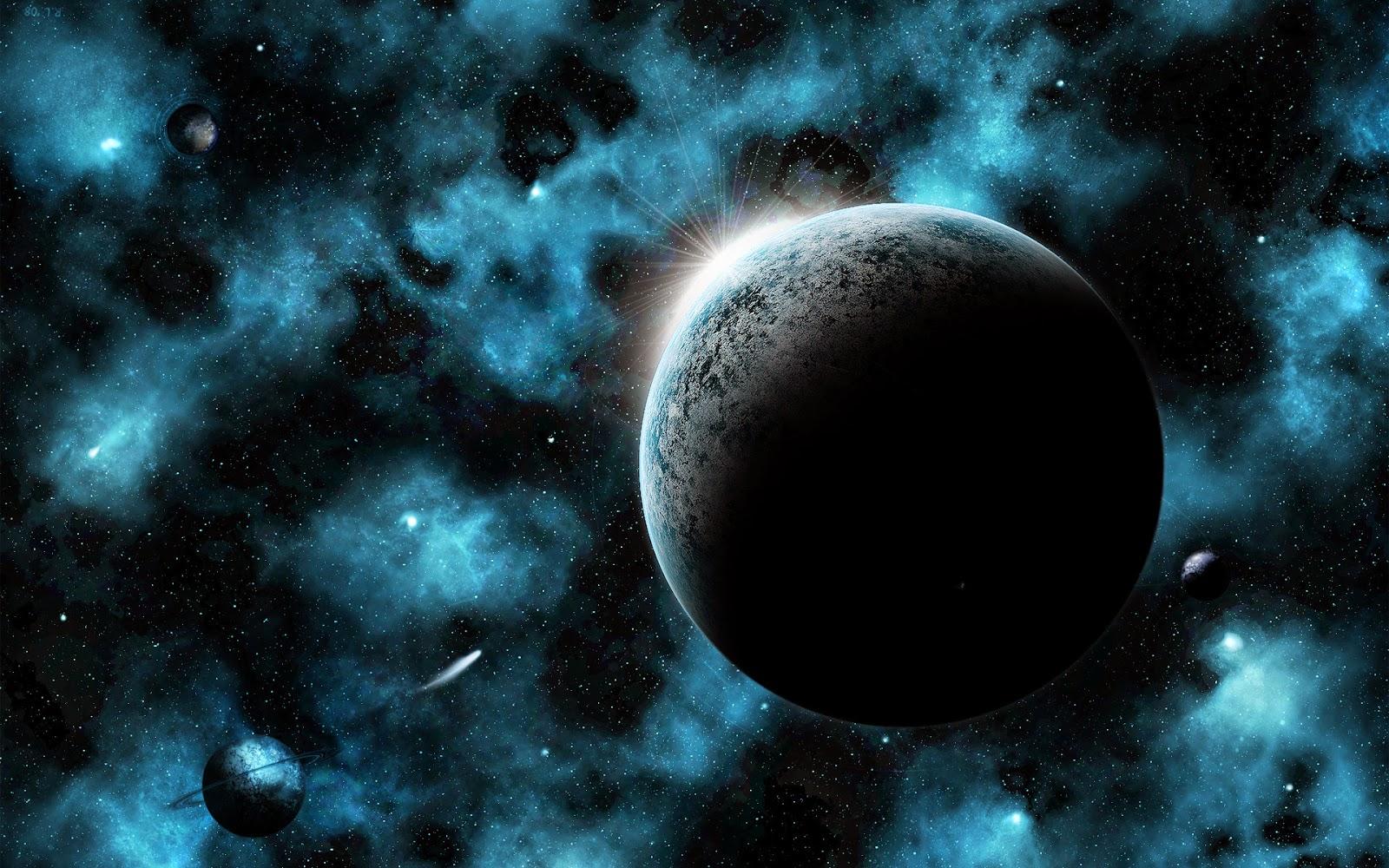 خلفية الفضاء ثلاثي الابعاد