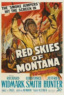 Cielo rojo de Montana | 1952 | Red Skies of Montana - Cover, poster, carátula