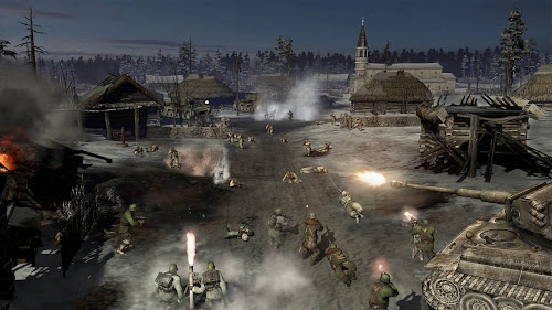 Company of Heroes 2 (2013) Full PC Game Single Resumable Download Links ISO দারুন একটি Strategy গেমস Company of Heroes 2 (2013) free download