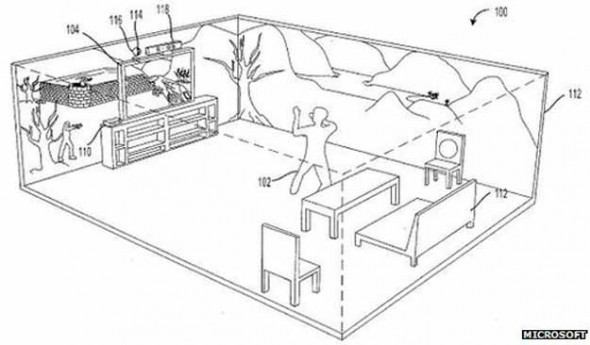 Microsoft patented the Holodeck - 27 Science Fictions That Became Science Facts in 2012