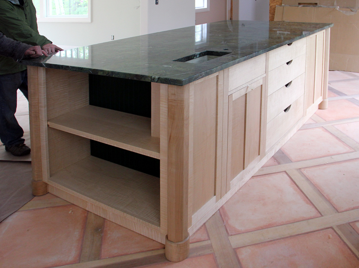 Kitchen Island 4 X 8 dorset custom furniture - a woodworkers photo journal: just this