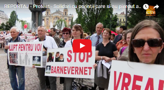 REPORTAJ Credo TV: Protest - Solidari cu părinții care și-au pierdut abuziv copiii